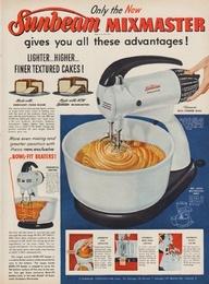 1952 Sunbeam Mixmaster