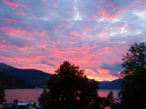 Norwegian summer midnight