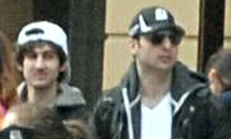 Bomber brothers Jahar (left) and Tamerlan Tsarnaev (killed)