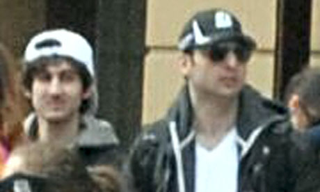 Bomber brothers Jahar (left) and Tamerlan Tsarnaev (killed)