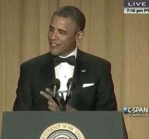 Pres. Obama at 2013 White House Correspondents' Dinner