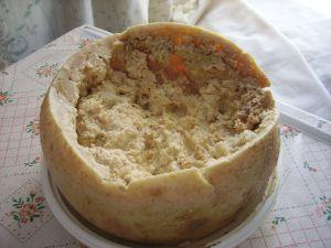 Casu Marzu cheese with insect larvae - Sardinia