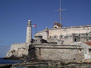 Castillo del Morro in Havana's harbor