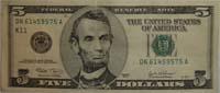 Lincoln$5bill