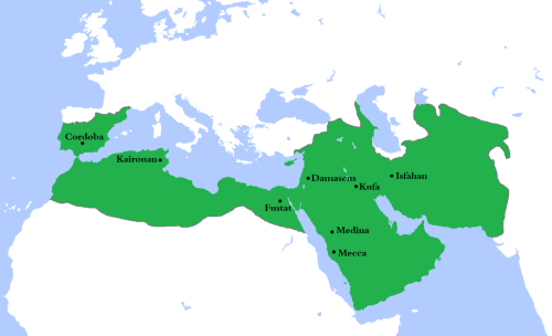 Umayyad Caliphate at its greatest extent