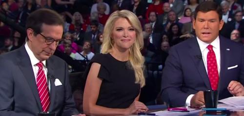 Fox News Panel, GOP Debate, August, 2015