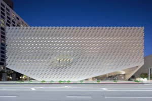 The Broad museum; photo by Iwan Baan; courtesy of The Broad and Diller Scofidio + Renfro