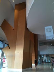 Disney Concert Hall lobby
